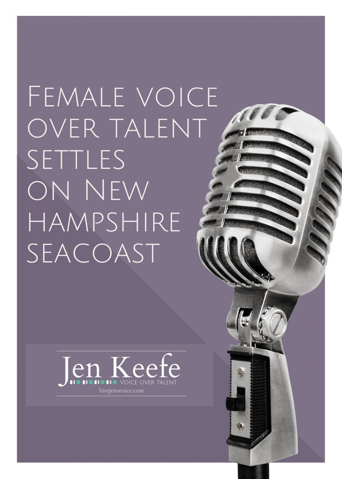 New Hampshire Voice Over Talent Settles on Seacoast
